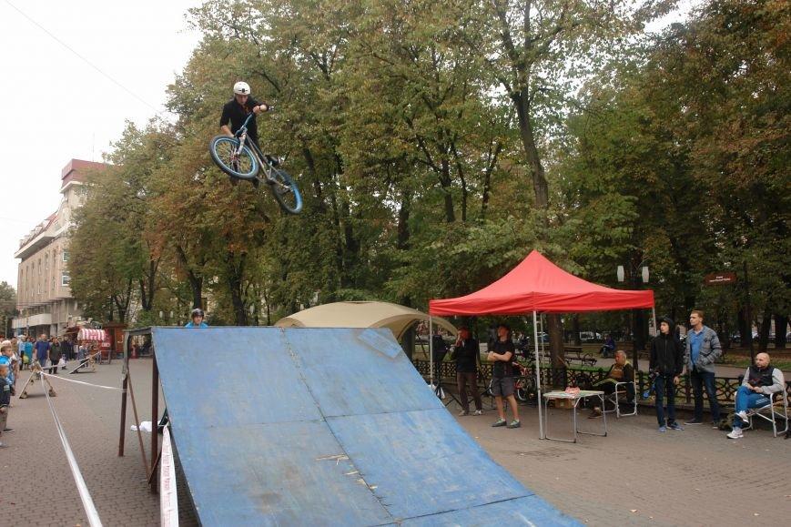 Франківчанам продемонстрували унікальне вело-шоу (ФОТОЗВІТ), фото-21