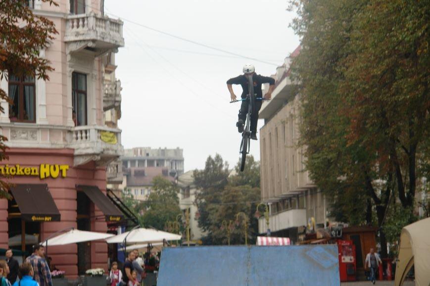 Франківчанам продемонстрували унікальне вело-шоу (ФОТОЗВІТ), фото-13