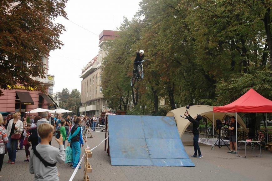 Франківчанам продемонстрували унікальне вело-шоу (ФОТОЗВІТ), фото-15