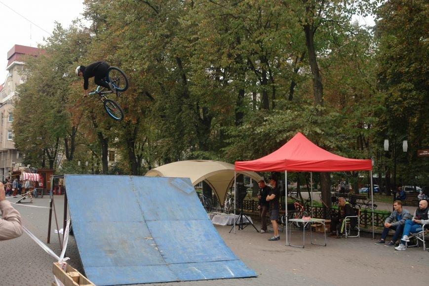 Франківчанам продемонстрували унікальне вело-шоу (ФОТОЗВІТ), фото-16