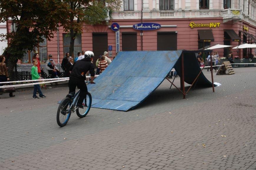 Франківчанам продемонстрували унікальне вело-шоу (ФОТОЗВІТ), фото-9