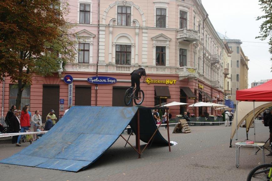 Франківчанам продемонстрували унікальне вело-шоу (ФОТОЗВІТ), фото-10