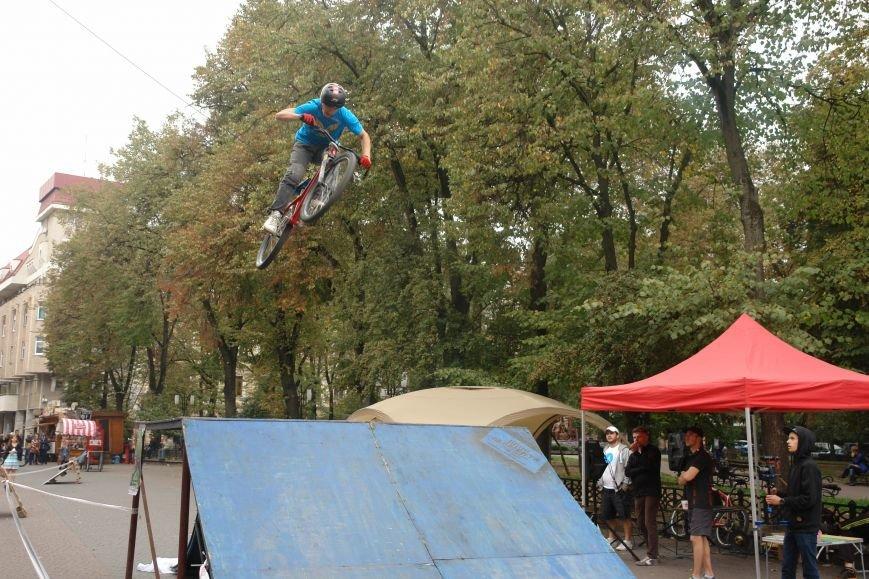 Франківчанам продемонстрували унікальне вело-шоу (ФОТОЗВІТ), фото-23