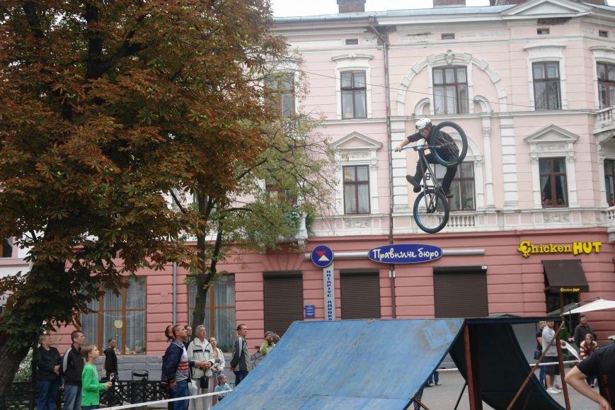 Франківчанам продемонстрували унікальне вело-шоу (ФОТОЗВІТ), фото-6