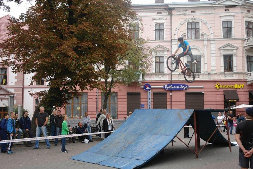 Франківчанам продемонстрували унікальне вело-шоу (ФОТОЗВІТ), фото-4