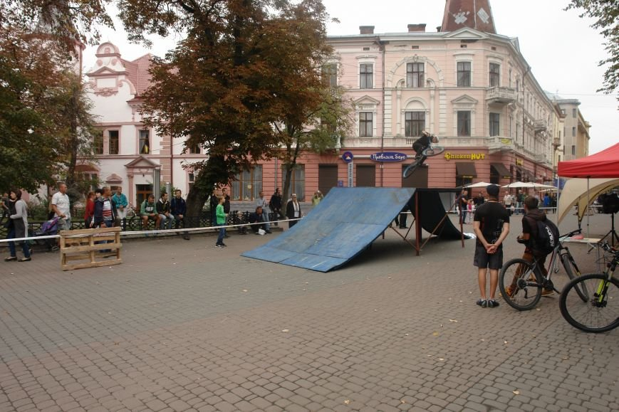 Франківчанам продемонстрували унікальне вело-шоу (ФОТОЗВІТ), фото-3