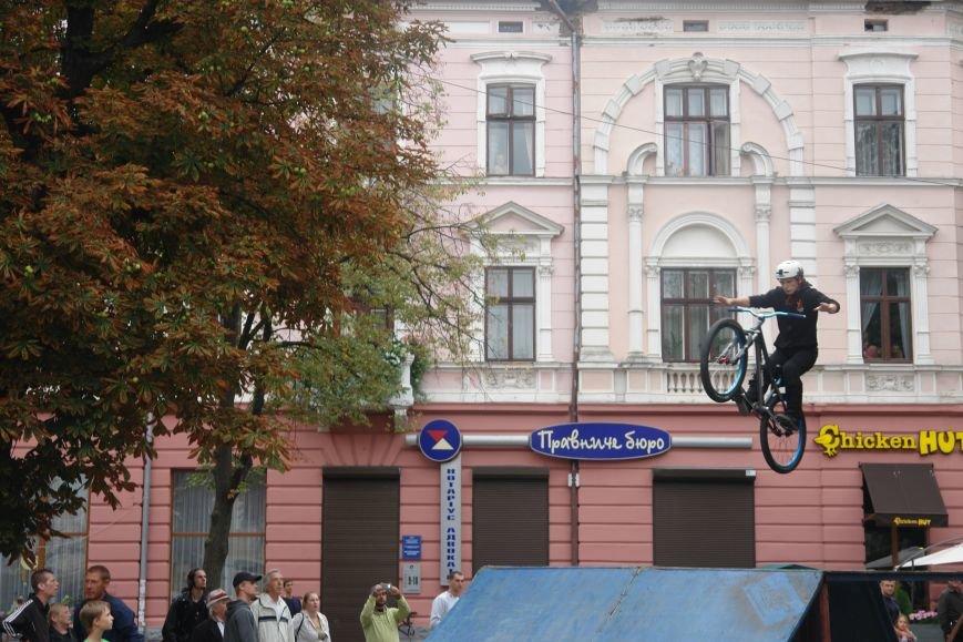 Франківчанам продемонстрували унікальне вело-шоу (ФОТОЗВІТ), фото-7