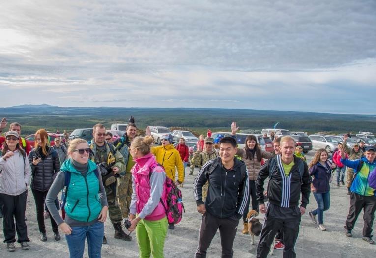 Восхождение на гору Острую: туристы взяли старт от карьера «Лиственичный» на Сахалине, фото-1