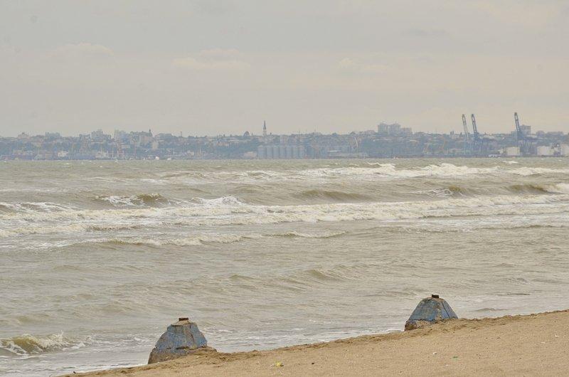 У берегов Одессы вспенилось море (ФОТО), фото-1