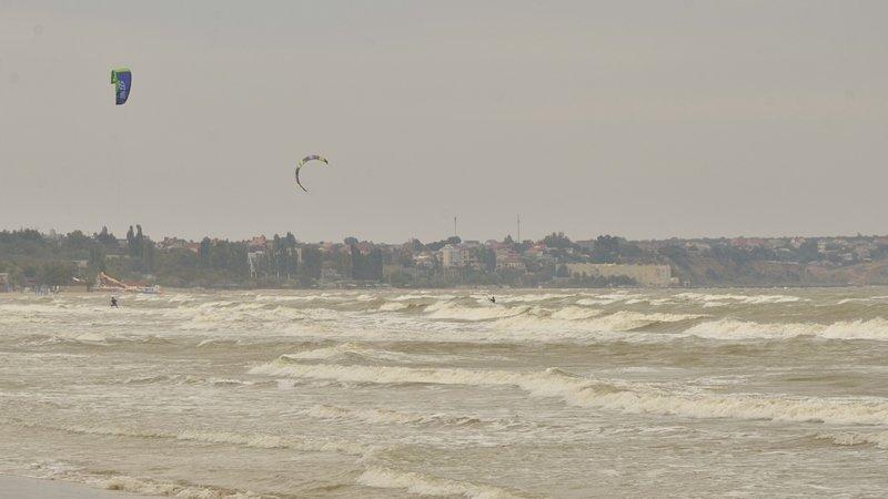 У берегов Одессы вспенилось море (ФОТО), фото-10