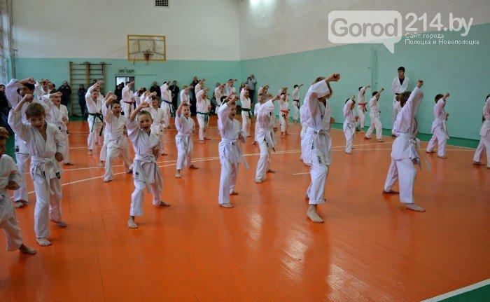 Что такое «рэй» и «хаджимэ»: Фоторепортаж с детской тренировки по каратэ в Новополоцке, фото-17