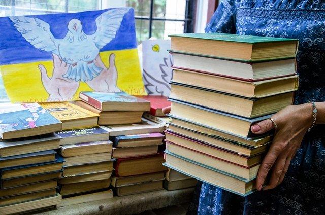 2 ... нові книжки у бібліотеці для учасників АТО,