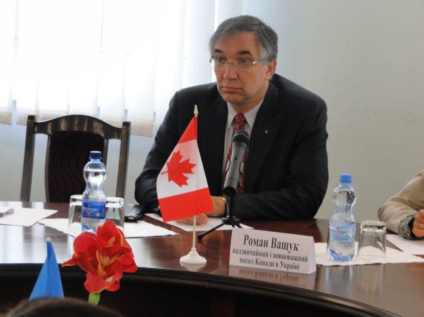 До Хмельницького завітав повноважний посол Канади, фото-1