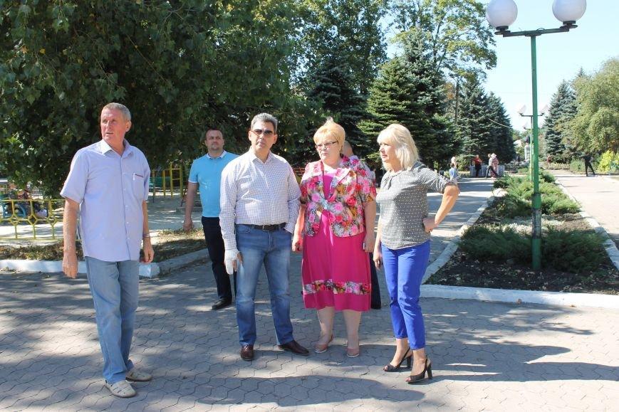У Новогродівку завітав директор департаменту екології та природних ресурсів, фото-1
