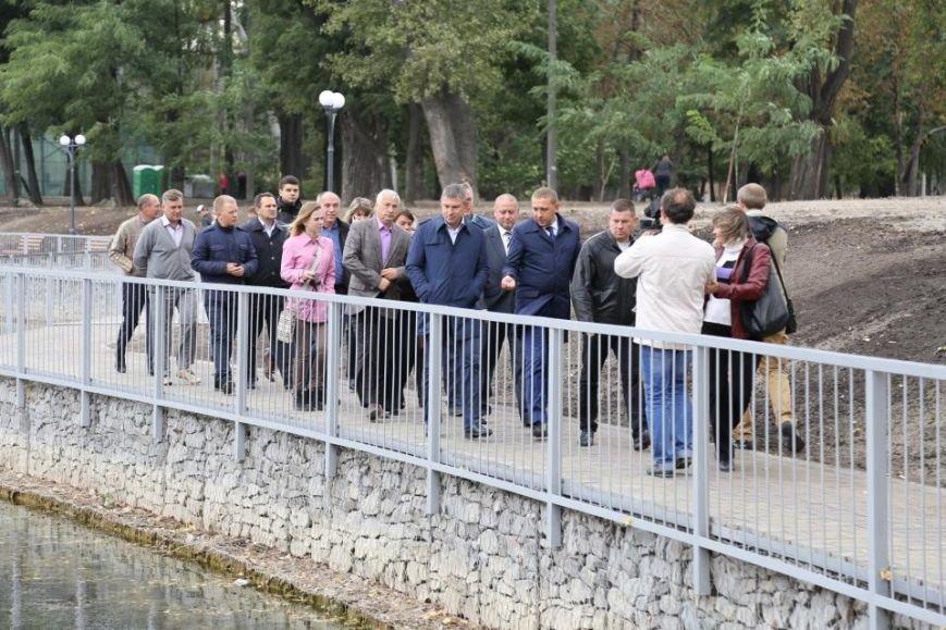 В Кременчуге технически открыли Беседку Влюбленных в Городском Саду (ФОТО, ВИДЕО), фото-11
