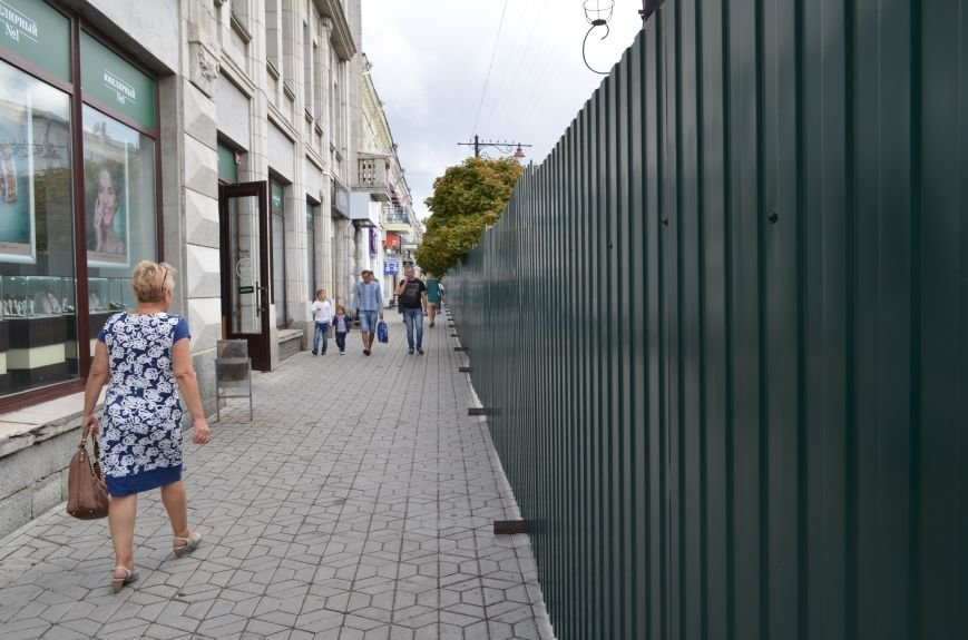 Центр Симферополя превратился в одну большую стройку (ФОТОФАКТ), фото-5