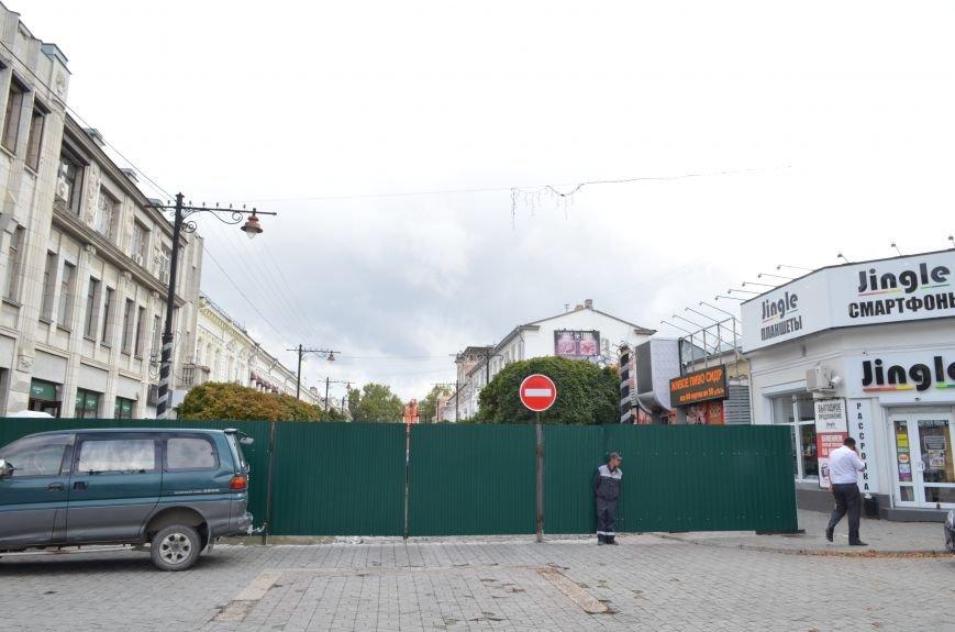 Центр Симферополя превратился в одну большую стройку (ФОТОФАКТ), фото-4
