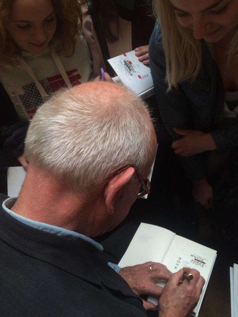 Генрі Марш прочитав у Львові лекцію і влаштував автограф-сесію (ФОТО), фото-8