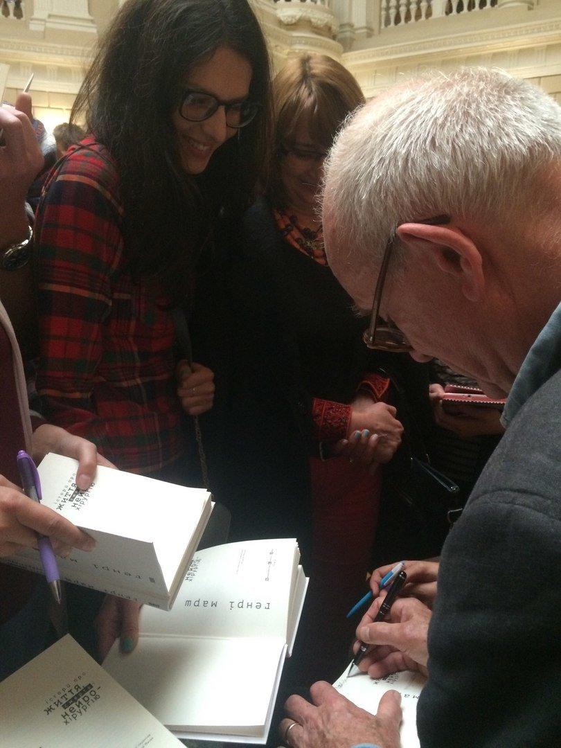 Генрі Марш прочитав у Львові лекцію і влаштував автограф-сесію (ФОТО), фото-10