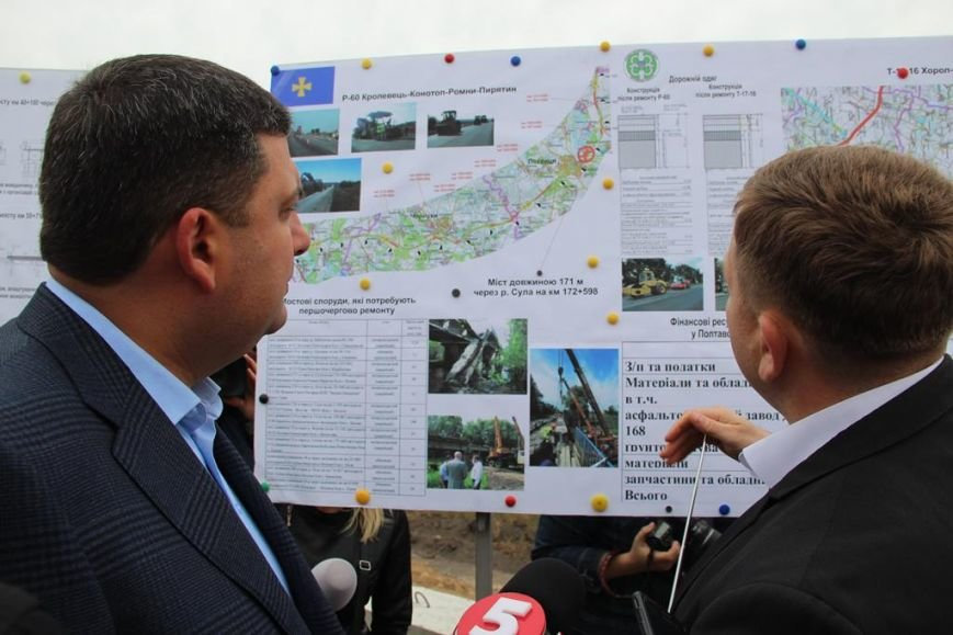 Керівник служби автомобільних доріг Полтавщини розповів про зроблену роботу та плани на наступні роки (2)