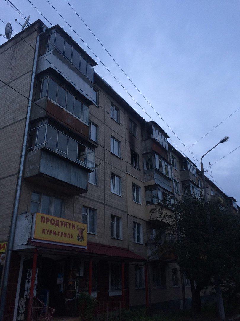 У житловому будинку, що на вул. Пасічній, 42 горіла квартира (ФОТО), фото-6