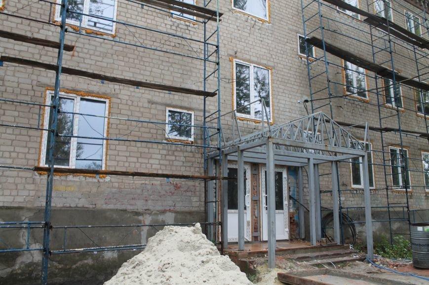 В Бахмуте продолжается реконструкция общежитий (ФОТО), фото-7