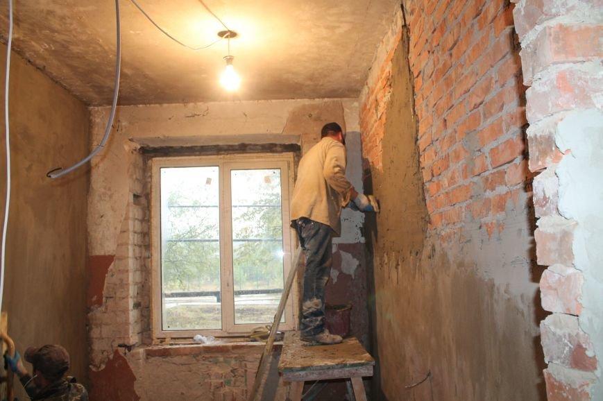 В Бахмуте продолжается реконструкция общежитий (ФОТО), фото-8