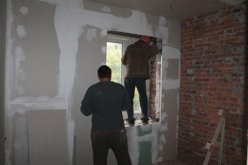 В Бахмуте продолжается реконструкция общежитий (ФОТО), фото-4