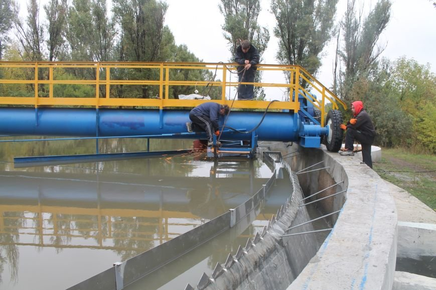 Реконструкция очистных сооружений Бахмута завершена на 70%, фото-5