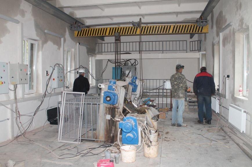 Реконструкция очистных сооружений Бахмута завершена на 70%, фото-1