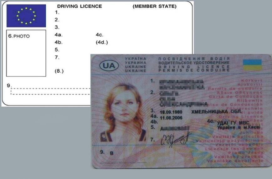 В Украине готовят водительские права нового образца (ФОТО), фото-1
