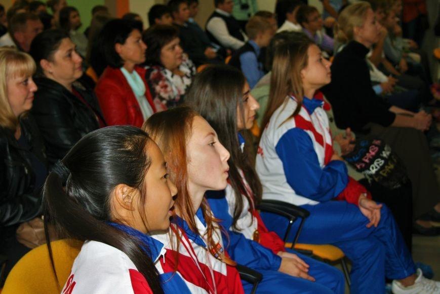 «Чемпионы с нашего двора»: школьники Троицка встретились со спортсменками, фото-4