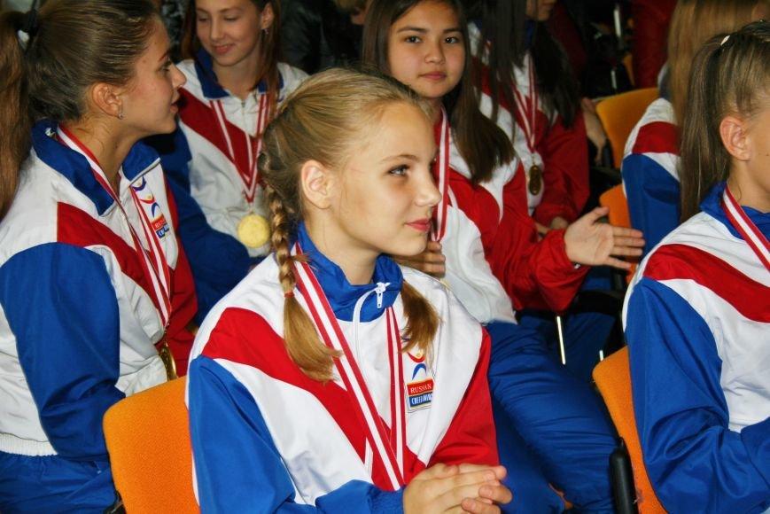 «Чемпионы с нашего двора»: школьники Троицка встретились со спортсменками, фото-5