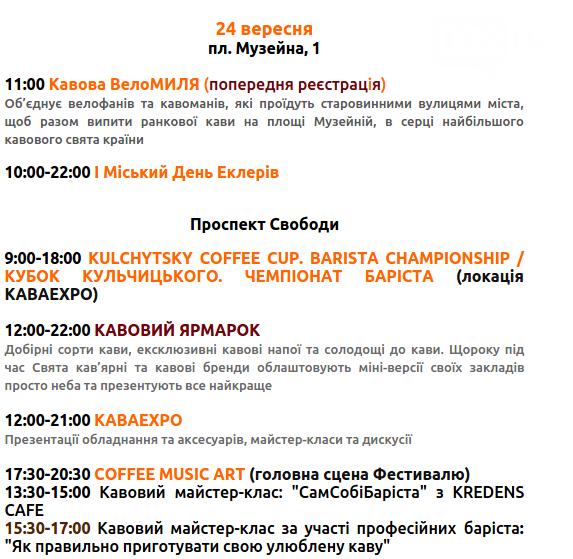 """Сьогодні на пр. Свободи стартує фестиваль """"На каву до Львова"""": куди піти і на що подивитися, фото-3"""