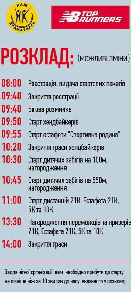 В Краматорске в полумарафоне зарегистрировалось около тысячи участников, фото-1