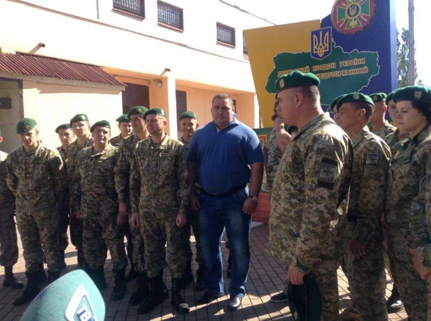 В Мариуполе известные силачи сварили борщ и слепили вареники для пограничников (ФОТО), фото-6