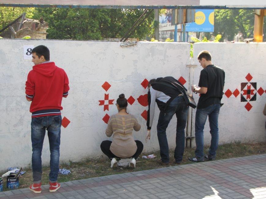 Патриоты украшают центральный проспект к Дню города, фото-4