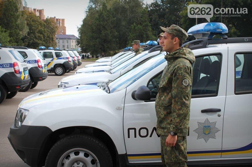 Аваков в Славянске вручил полиции Донецкой области новые внедорожники (ФОТО), фото-5
