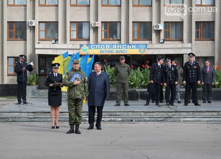 Аваков в Славянске вручил полиции Донецкой области новые внедорожники (ФОТО), фото-3