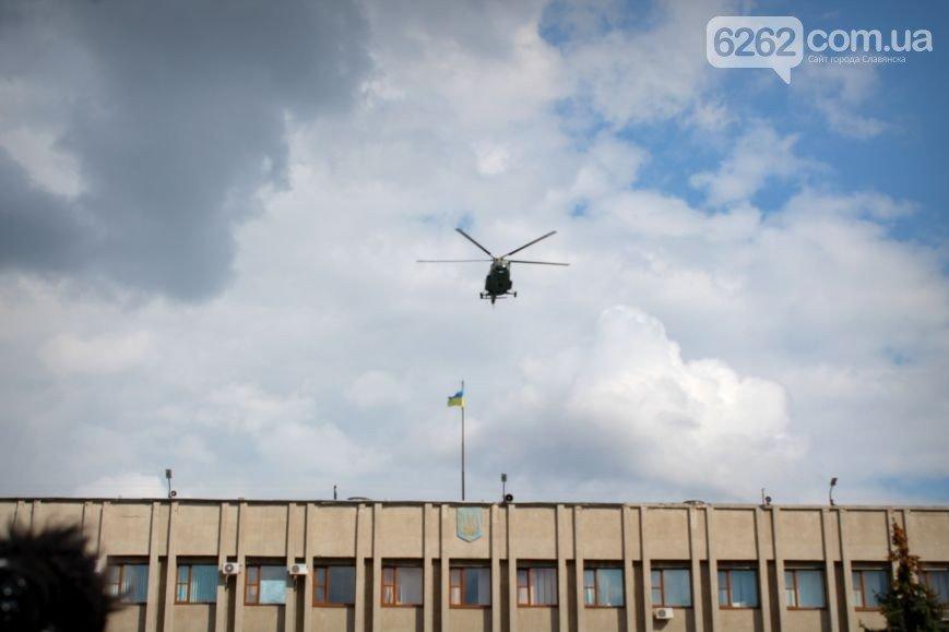 Аваков в Славянске вручил полиции Донецкой области новые внедорожники (ФОТО), фото-6