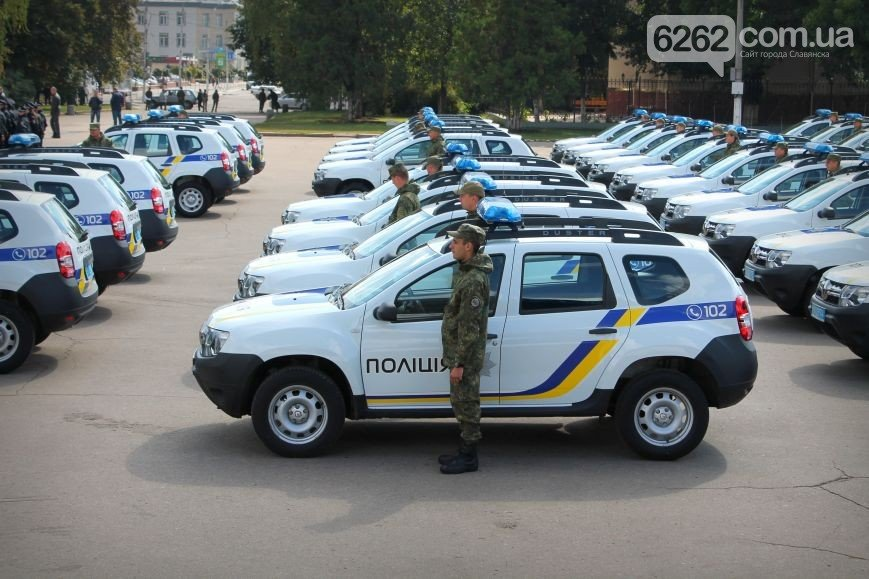 Аваков в Славянске вручил полиции Донецкой области новые внедорожники (ФОТО), фото-4