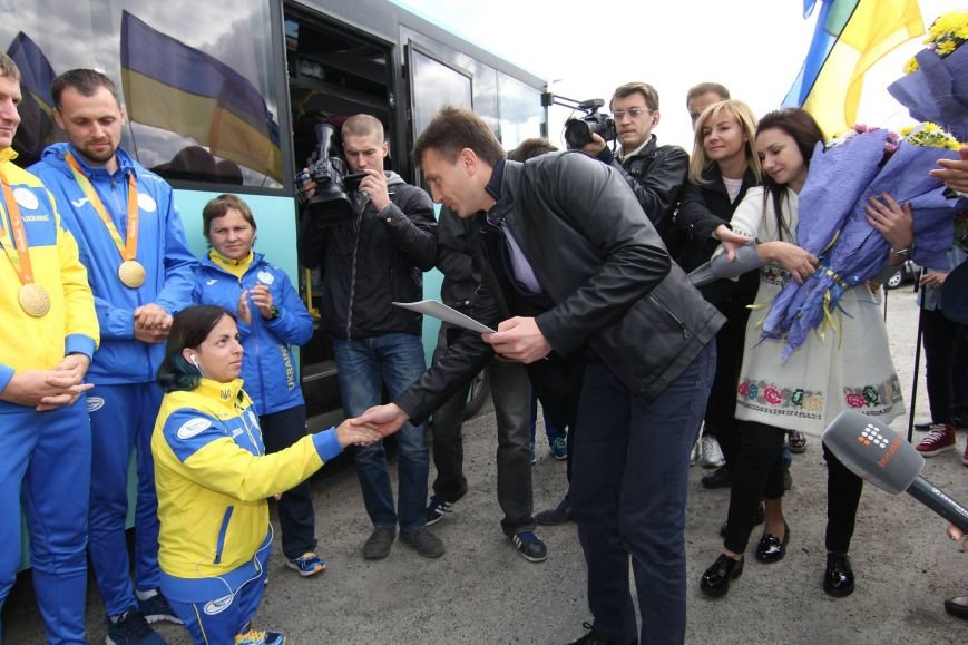 На Днепропетровщину вернулись победители Паралимпийских игр (ФОТО), фото-2