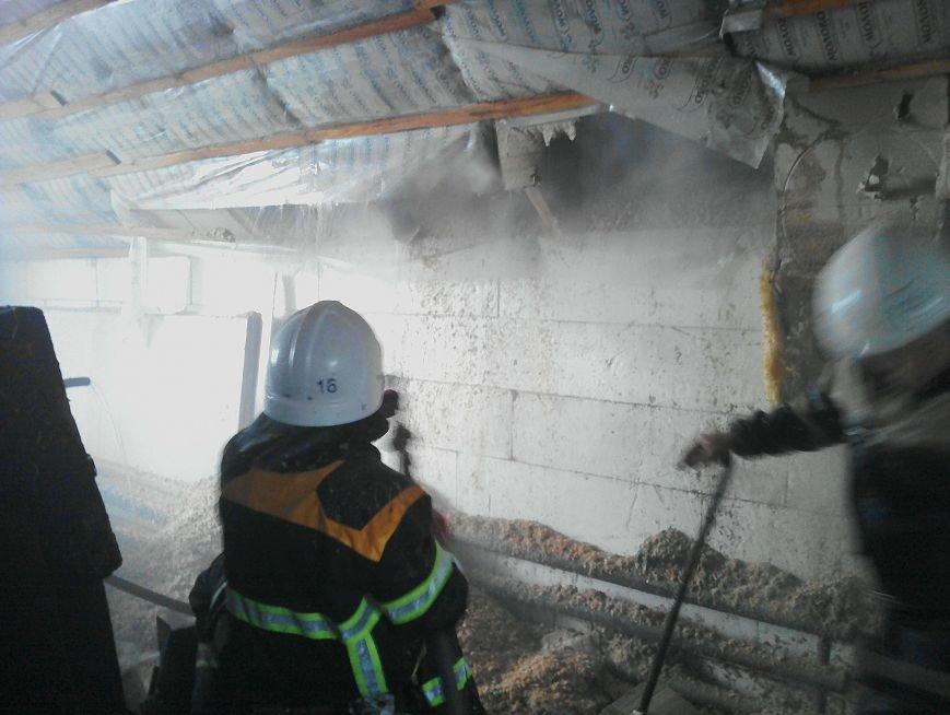 В Кременчуге загорелся жилой дом из-за неисправности дымохода (ФОТО), фото-3