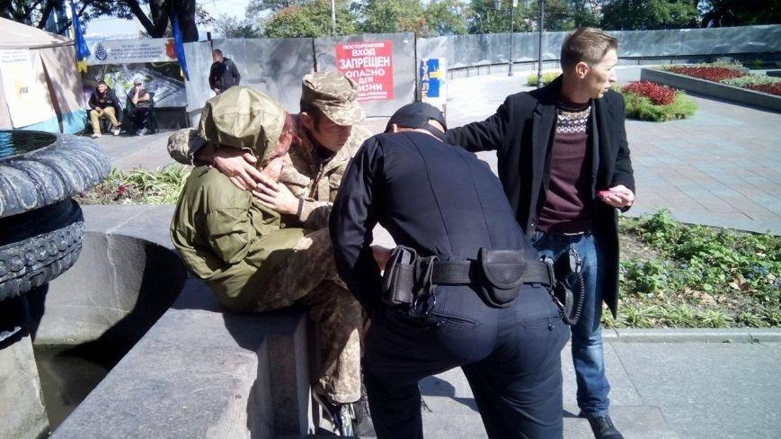 В центре Одессы новые столкновения: Попытка установить палатку закончилась дракой (ФОТО, ВИДЕО), фото-2