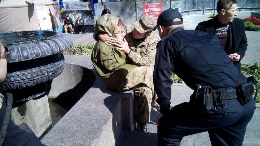 В центре Одессы новые столкновения: Попытка установить палатку закончилась дракой (ФОТО, ВИДЕО), фото-3