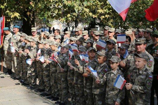 В Симферополе прошел митинг ко Дню герба и флага Крыма (ФОТО), фото-8