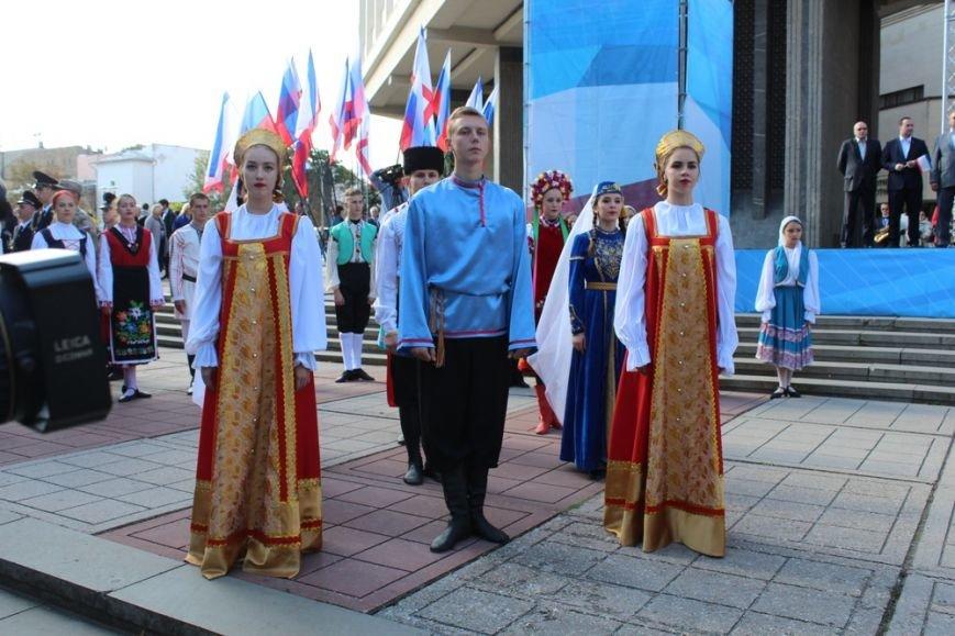 В Симферополе прошел митинг ко Дню герба и флага Крыма (ФОТО), фото-2