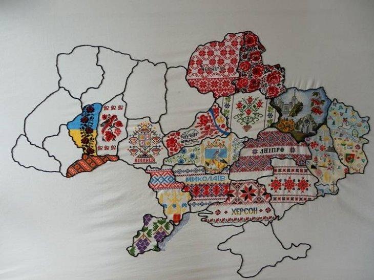 Івано-Франківським казначеям передали незвичайну карту. Фото, фото-2