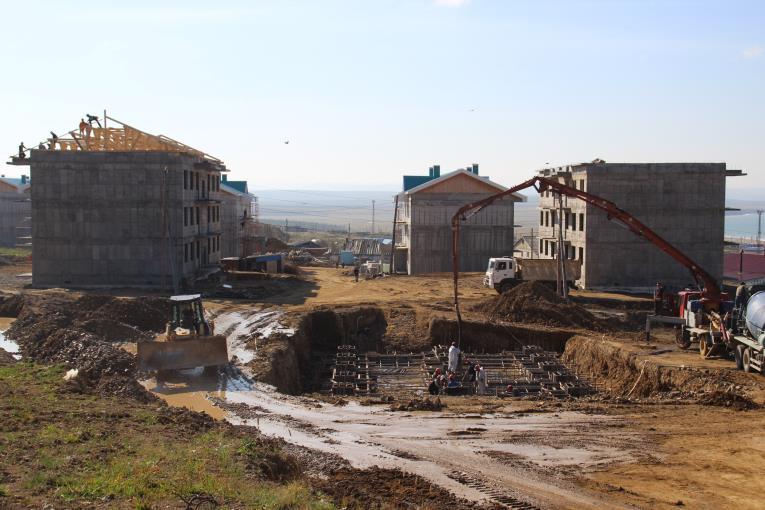 Сахалинский министр посетил стройплощадки в Томаринском районе, фото-3