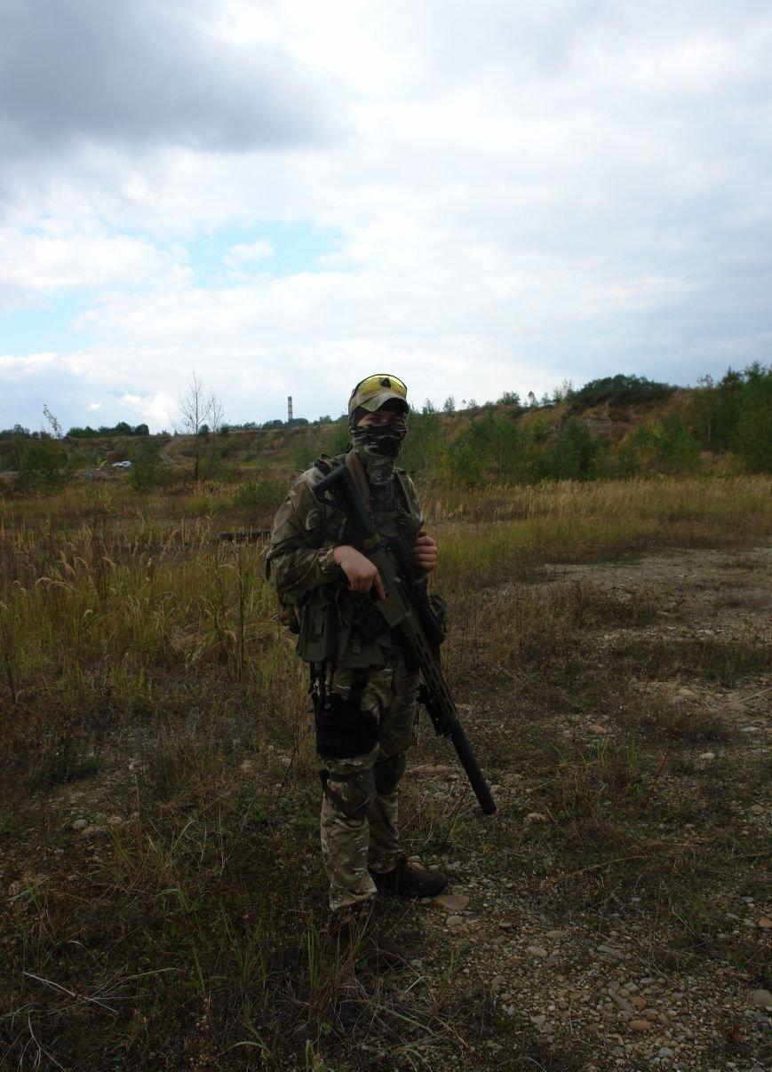 Як прикарпатські бійці АТО проходили бойовий вишкіл (ФОТОРЕПОРТАЖ), фото-16